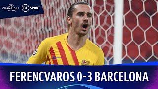 Ferencvaros v Barcelona (0-3) | Champions League Highlights