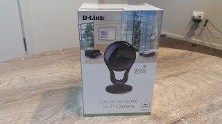 D-Link DCS-2530L Full HD 180-Degree Wi-Fi Camera Review