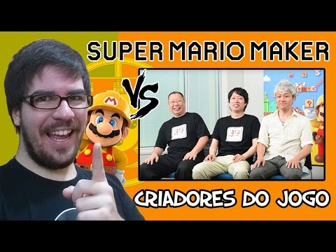 SUPER MARIO MAKER - Remedy e Fenom VS. Criadores