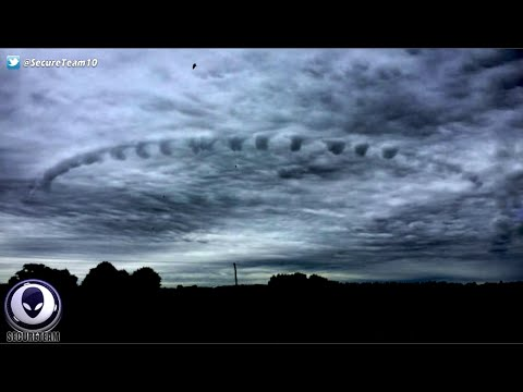 Scary Portal Opening Above CERN? Helicopter Chases UFO & More! 9/20/16