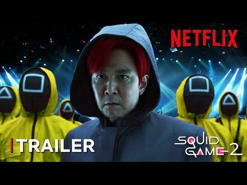 Squid Game Season 2 Teaser Trailer   Life is a Bet   Netflix Series   TeaserPRO's Concept Version