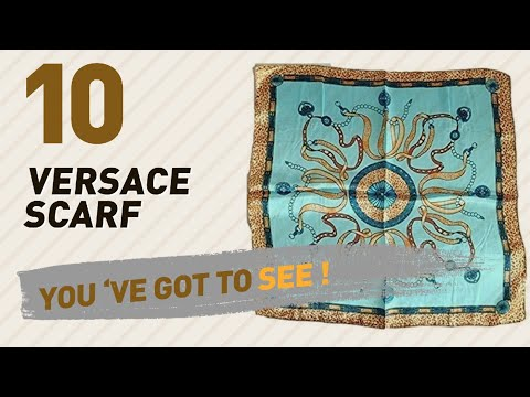 Versace Scarf, Uk Collection // Most Popular 2017