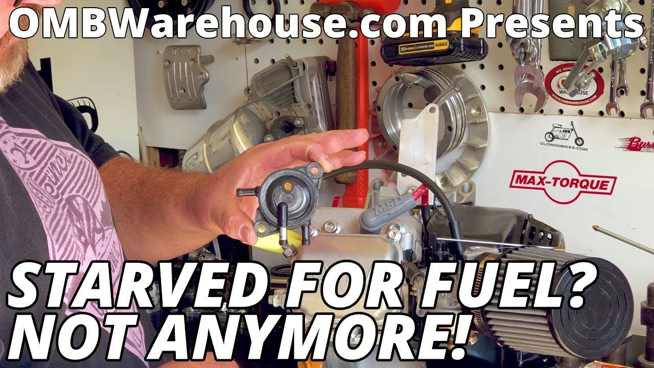 Fuel Pump Installation on a Small Engine
