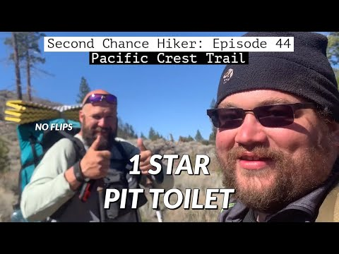 Episode 44: 1 Star Pit Toilet & Two Days in a Row I Break My Record (Days 73 & 74) | PCT from YouTube · Duration:  16 minutes 56 seconds