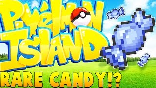 50 RARE CANDIES ULTIMATE TOURNAMENT - Minecraft Pixelmon Island - Pokemon GO Mod