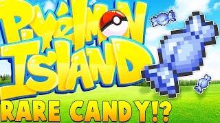 50 RARE CANDIES ULTIMATE TOURNAMENT - Minecraft Pixelmon Island - Pokemon GO Mod