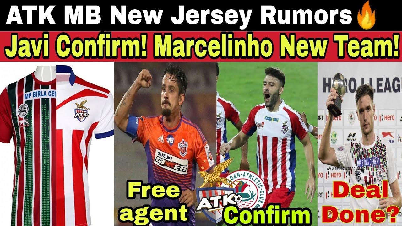 ATK Mohunbagan jersey Rumor! Javi Confirm🔥 Joseba Beitia, Marcelinho Updates!