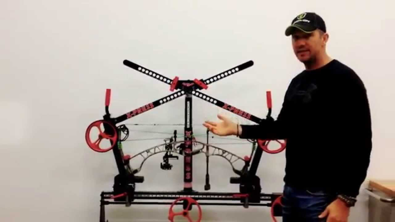 How to Press a Hoyt Spyder with the X-PRESS bow press