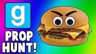 Vanoss中文 Gmod有趣時刻-起司漢堡、稻草人、斧頭(請開CC字幕) (Garry's Mod Prop Hunt Funny Moments) thumbnail