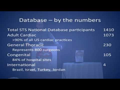 GTSC 2013 Douglas Wood Update from the Society of Thoracic Surgery