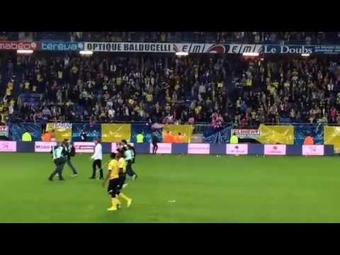 dernières minutes de SOCHAUX en ligue 1 et la tristesse vue côté staff sochalien