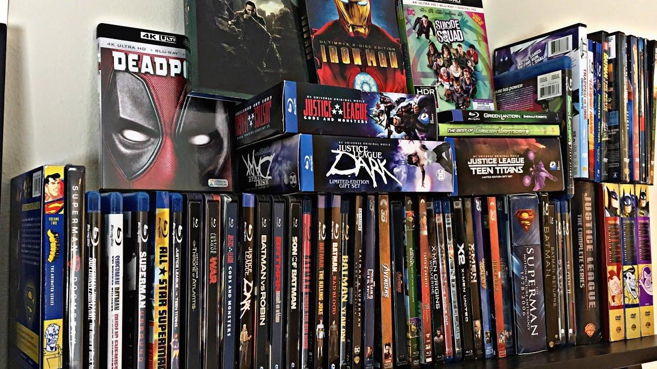 my marvel amp dc movie collection superhero comic book