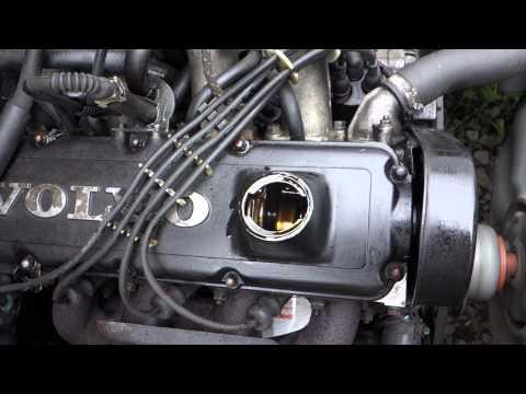 VOLVO RED BLOCK ENGINE RUN
