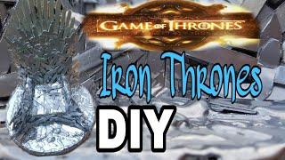 Iron thrones | DIY IRON THRONES | GAME OF THRONES | CHAIR OF THRONES | IRON THRONES