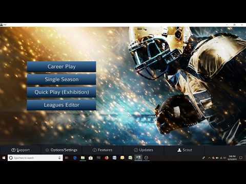 Pro Strategy Football 2020 editor league team creator tutorial thumbnail