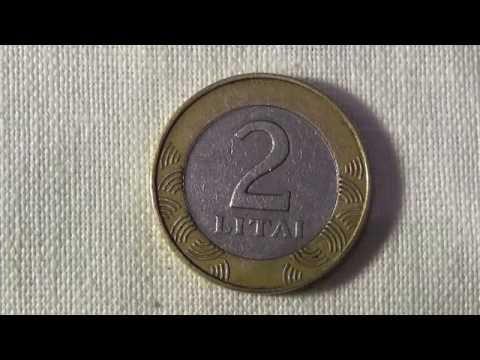 2 litai 1999
