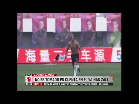 Martins quiere dejar el Wuhan Zall de China