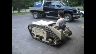 Goliath Mini Tank Gokart Third Test Drive