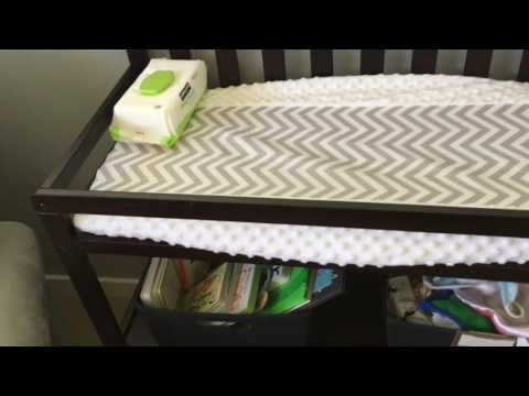 Sorelle Urban Changing Table in Espresso Review