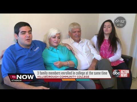 Entire Tampa family attends Hillsborough Community College