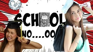 Помощ,  Училище ( Какво мразех в училище? )