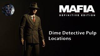 Mafia: Definitive Edition - Dime Detective Magazine Locations