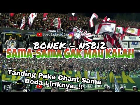 Keren..!! Bonek vs NSB12 Adu Berisik Pake Chant Sama tapi Beda Lirik | Bali United vs PSBY
