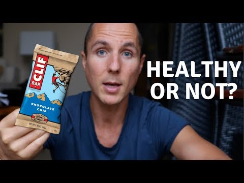 CLIFF BARS // HEALTHY OR NOT?