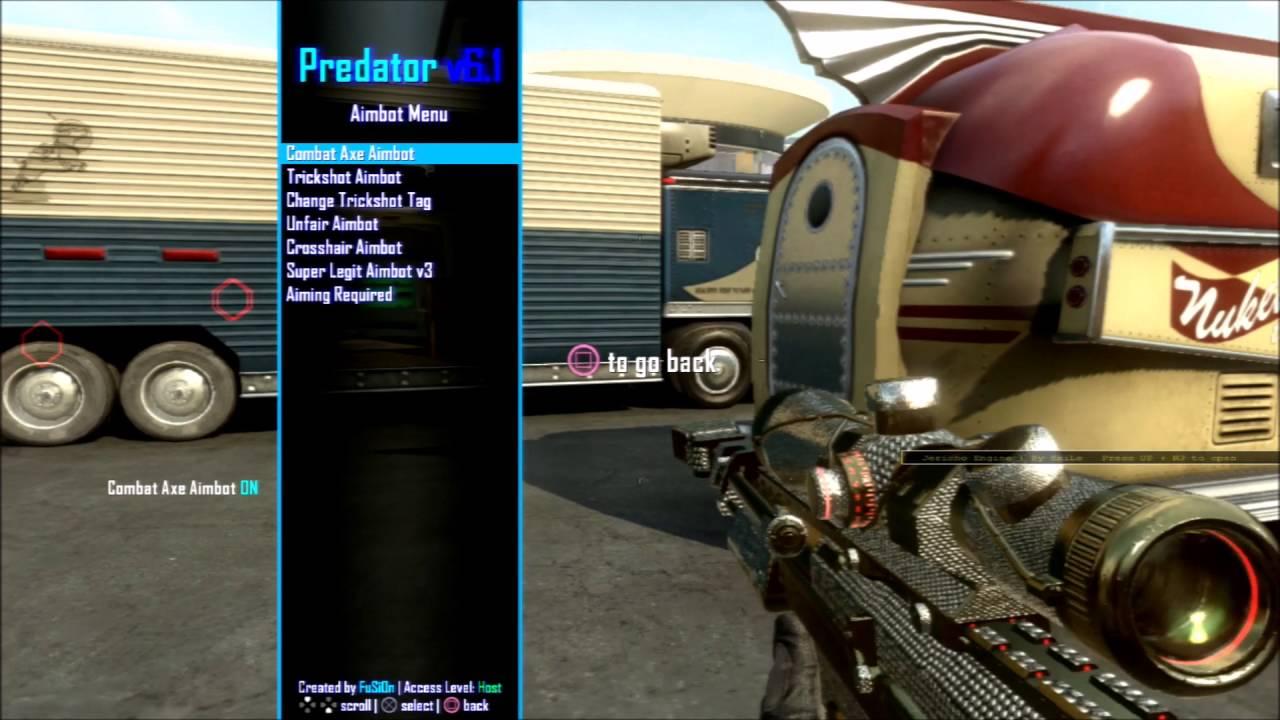 [BO2/PC/PS3/XBOX/1 19] Predator v6 Mod Menu + Download