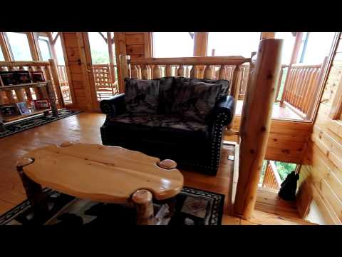 """Adventure Lodge"" 3 Bedroom Pigeon Forge Cabin With Spectacular Views - Cabins USA 2014"