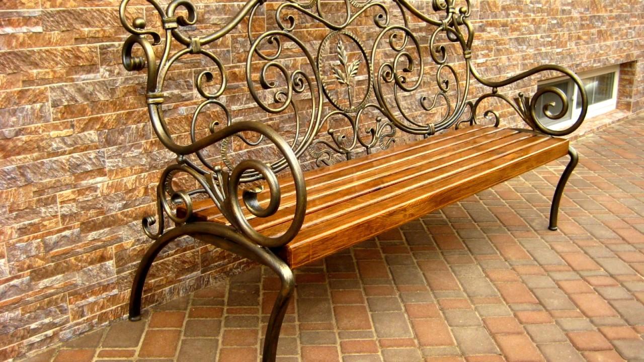 Кованые скамейки своими руками фото 253