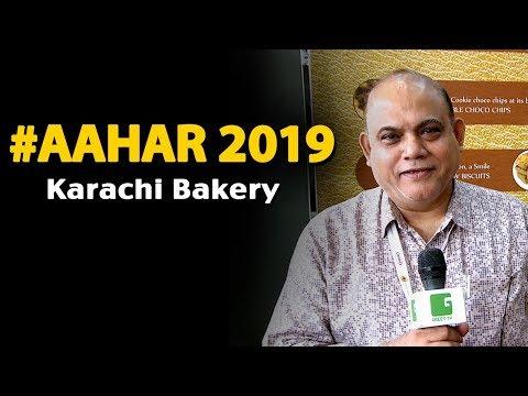 Lalit Kalyani, Marketing Head - Karachi Bakery In AAHAR 2019