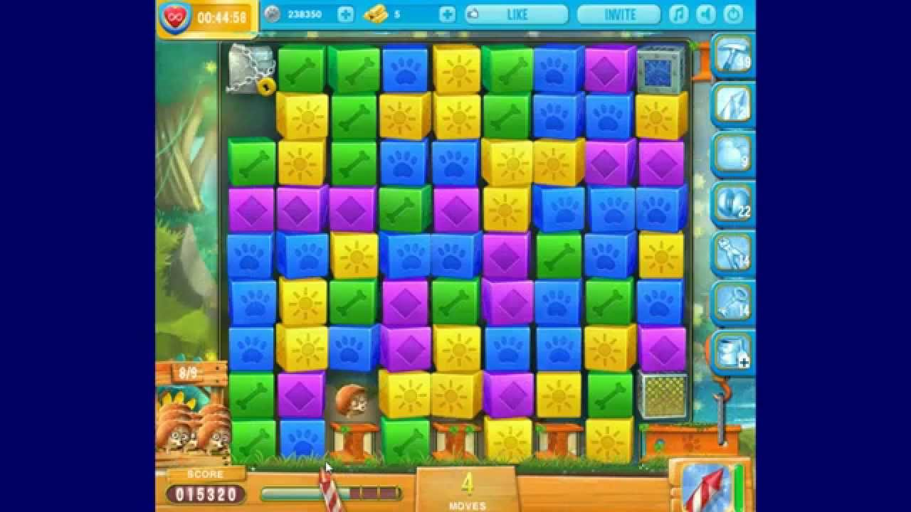 Pet rescue island level 9 6th 8th june 2016 youtube for Pet island level 4