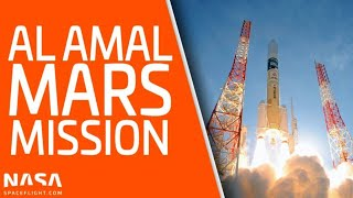 Emirates Mars Mission (Al Amal/Hope) launch from Japan