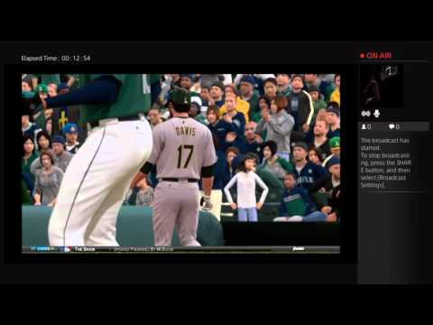 MLB The Show 15 No Hitter Attempt-Mariners Franchise Mode