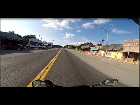 Spavinaw Oklahoma - downtown - bike ride