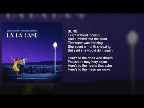 La La Land - Audition (Fools Who Dream) - Lyrics