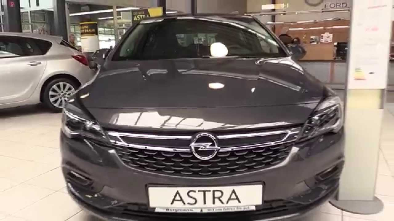 Vauxhall Opel Astra 2016 In Depth Review Interior Exterior - YouTube