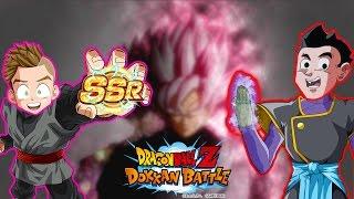 SS Rose Goku Black Vegito Blue Dual Summons w/ Rhymestyle! Dragon Ball Z Dokkan Battle JP