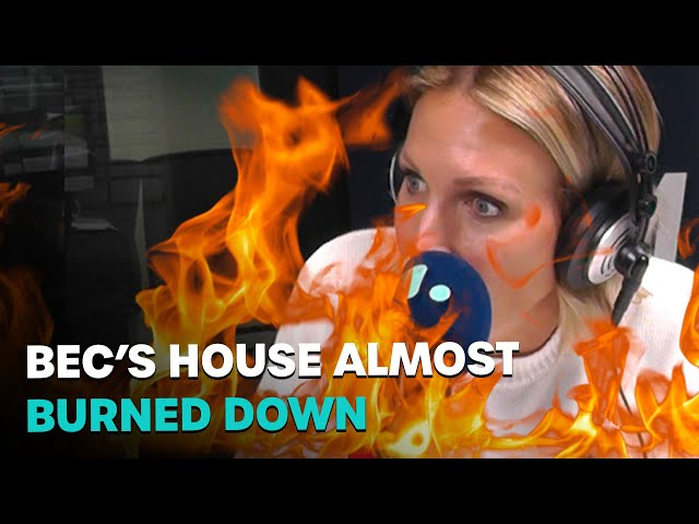 Bec's House Almost Burned Down | Bec Cosi and Lehmo