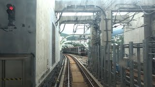 4K cab view - MTR South Island line north bound Full Trip