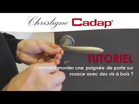 Tutoriel 3 Chrisligne Cadap Comment Monter Une Poignée Sur Rosace Avec Des Vis à Bois