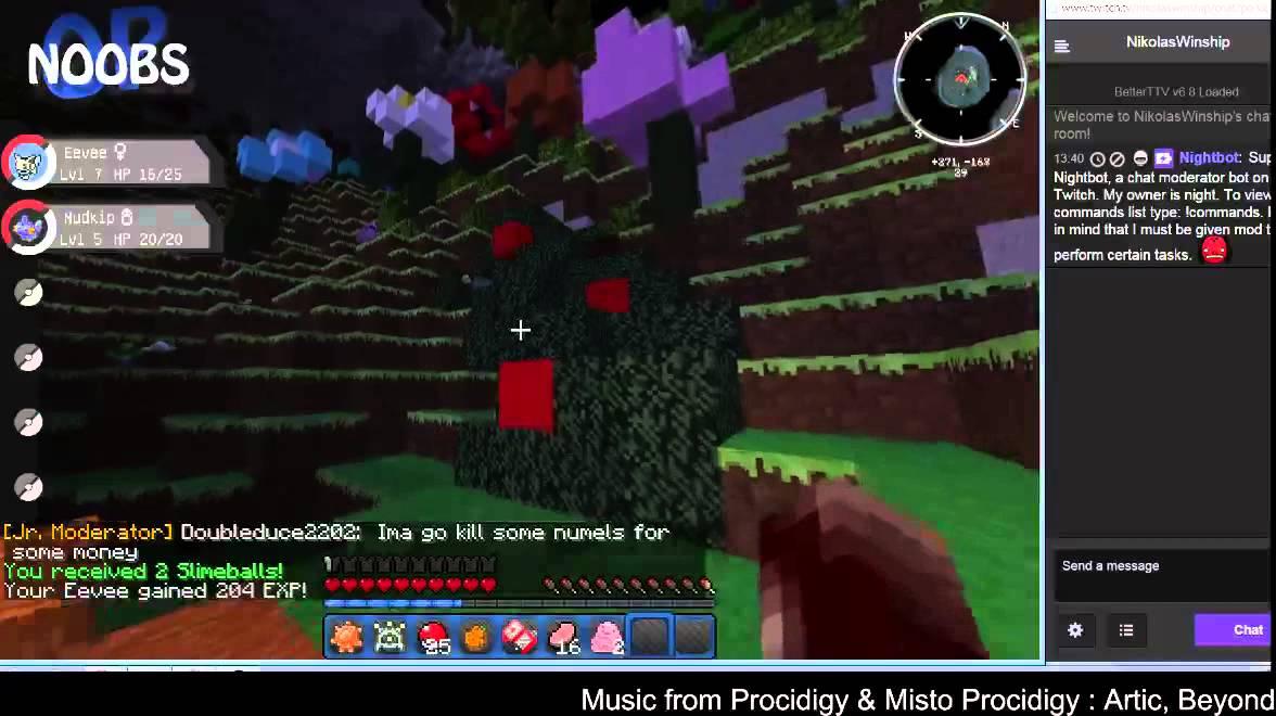 Pixelmon Mystery Dungeon - Episode 1 Part 1