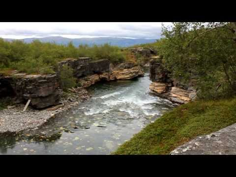 Abisko nationalpark Sverige (HD)
