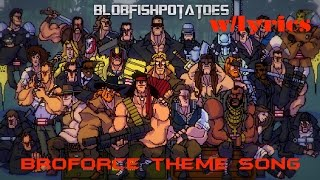 Strident - Broforce Theme Song w/lyrics