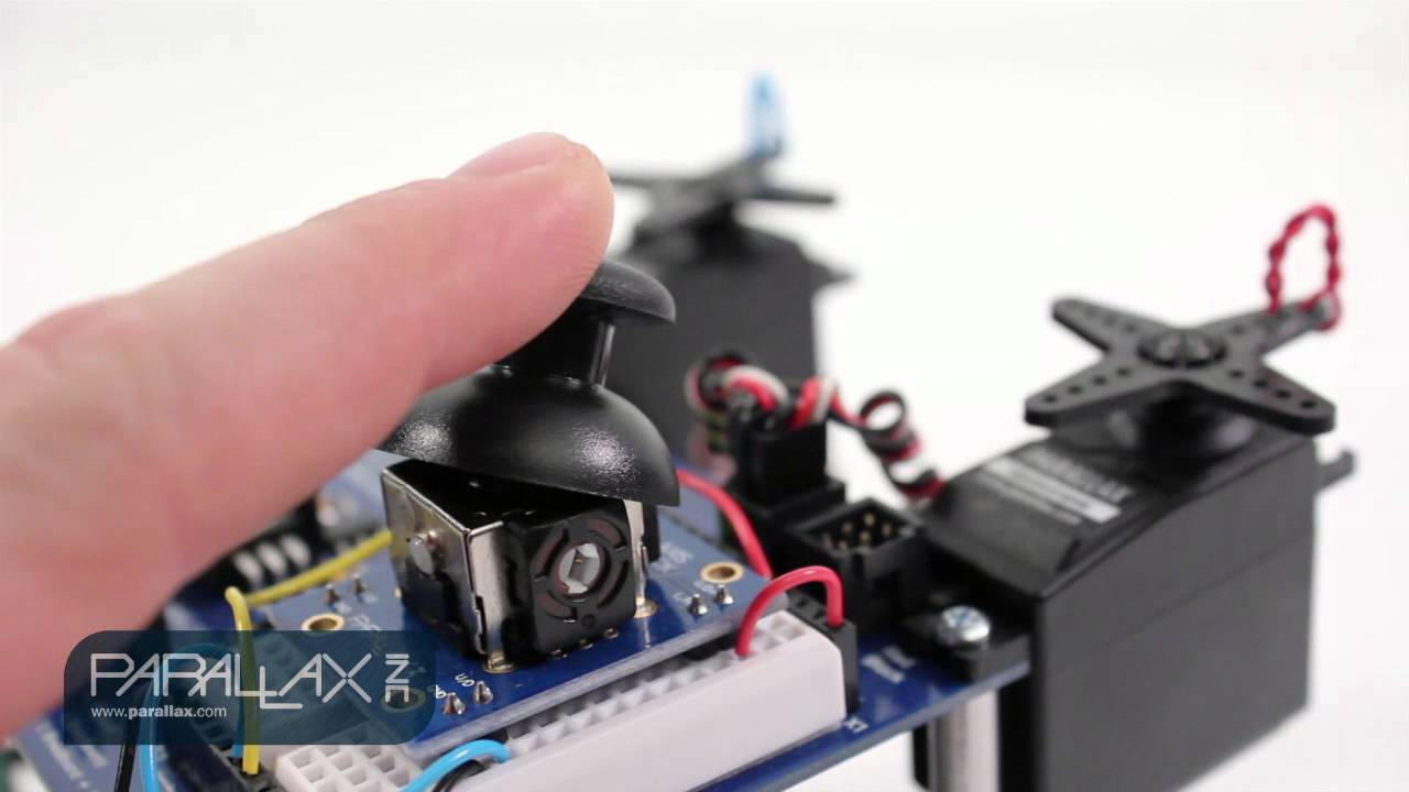 hight resolution of 2 axis joystick