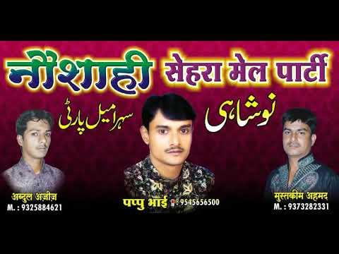 Meri nas nas bole nabi nabi (naushahi pappu qawwal kamptee) new jhankar 2018