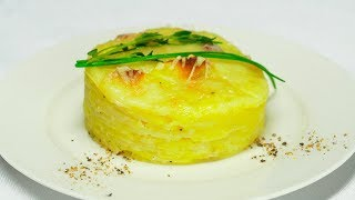 Гратен из картофеля. Рецепт от Всегда Вкусно!