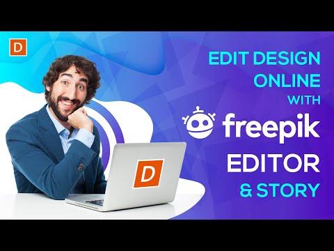 freepik-editor-tutorial-|-edit-design-online-|-stories-by-freepik-|-designwala-create-logo-online