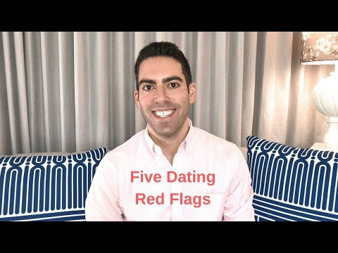 Five Dating Red Flags